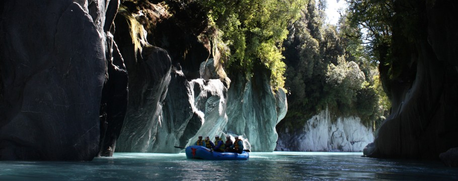White Water Rafting In South Island New Zealand 65