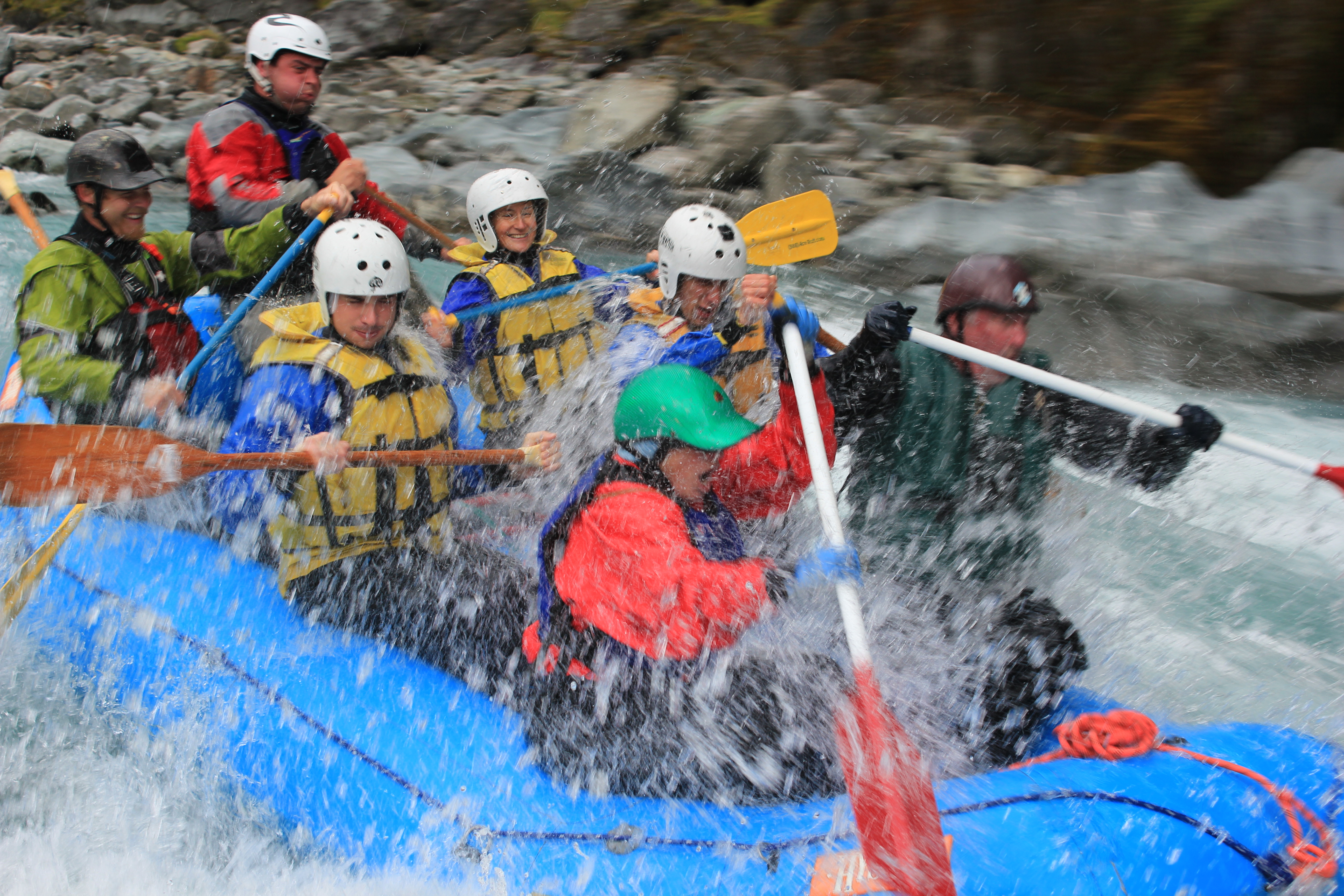 White Water Rafting In South Island New Zealand 75