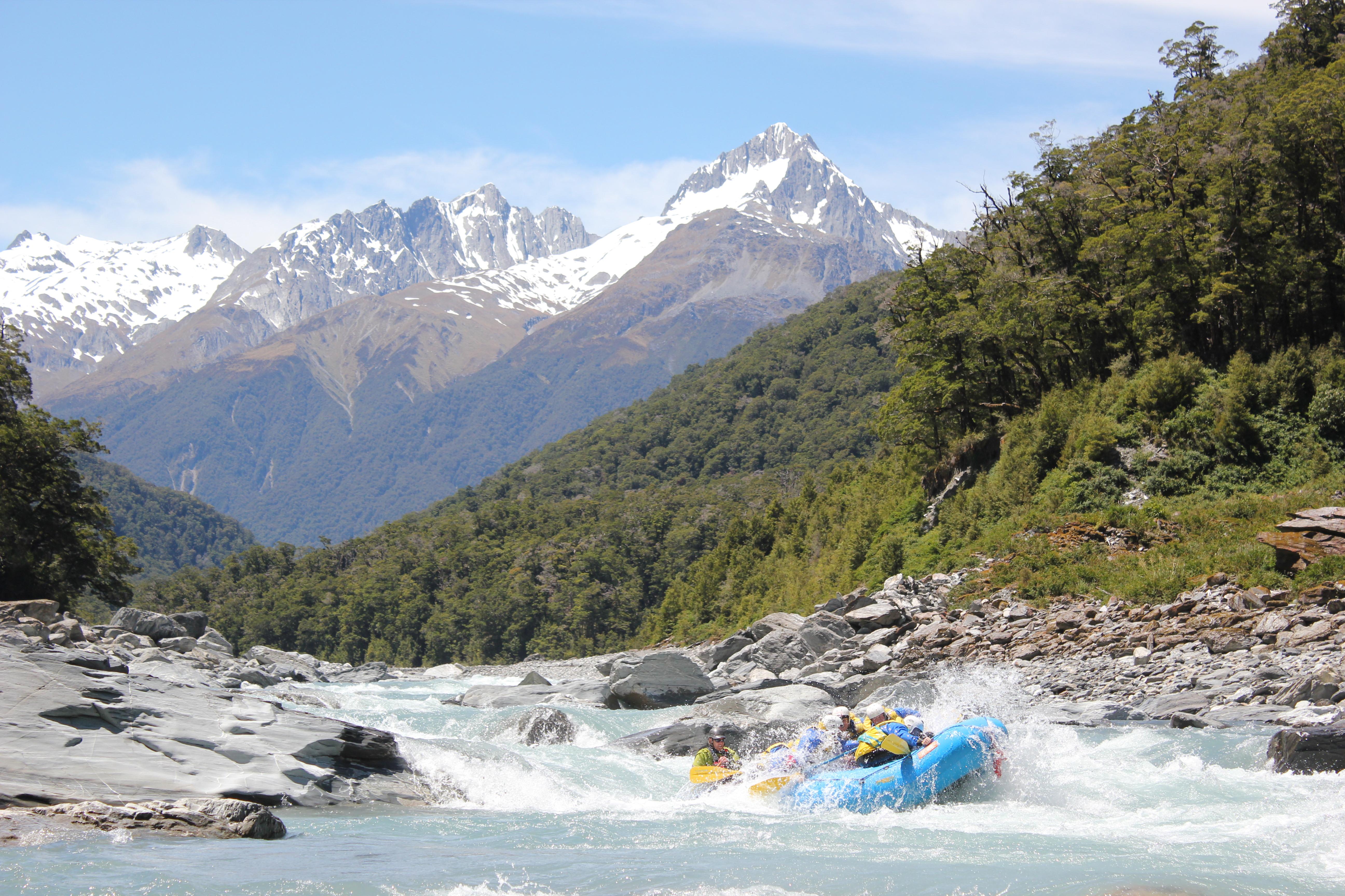 New Zealand Rafting South Island
